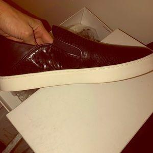 Vince Garvey black womens slip on shoes Nordstrom